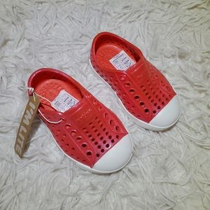 NWT Pink Native Shoes
